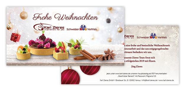 100 Weihnachtskarten Grusskarten Weihnachten Postkarten 221010 TA