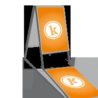 gestalten erstellen entwerfen preis kosten grafiker werbeagentur online buchen festpreis - kundenstopper